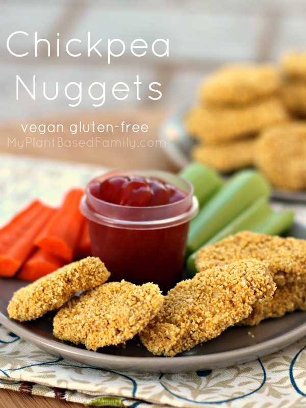 Chickpea Nuggets My Plant Based Family