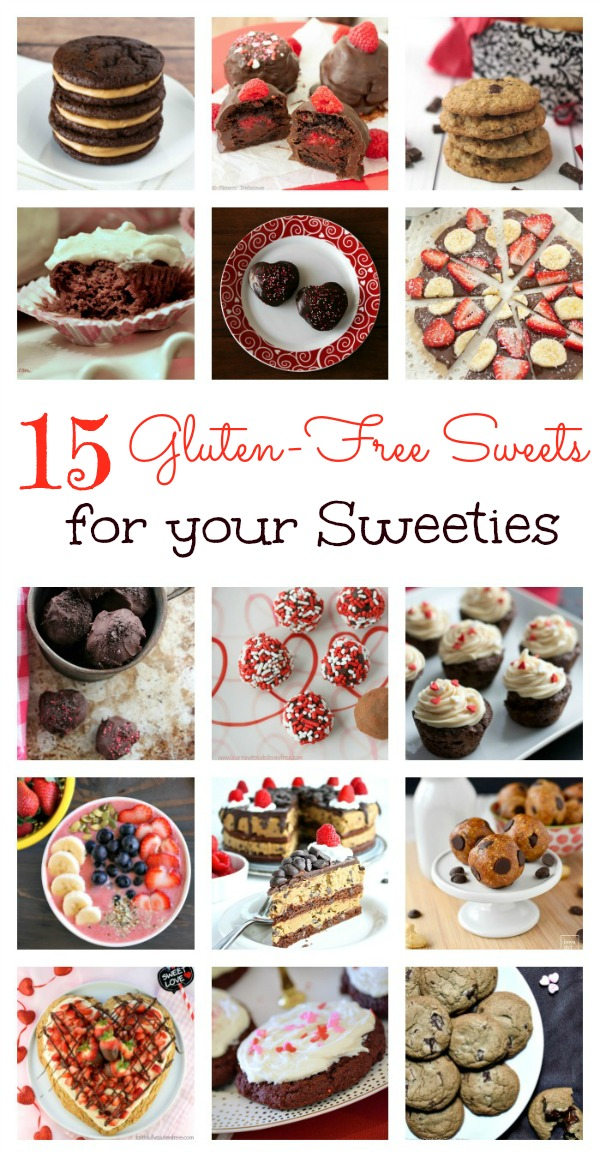 Sweets for Sweeties Gluten-free Recipes Collage 600