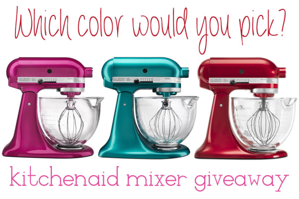 sweets for your sweeties kitchenaid mixer giveaway
