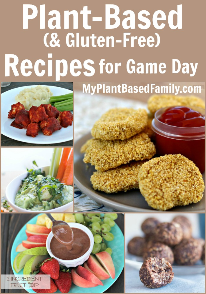 Plant-Based Recipes for Game Day - My Plant-Based Family