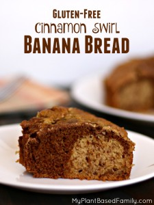 Gluten-Free, Vegan Banana Bread that is perfect for brunch, snack or to share with friends.