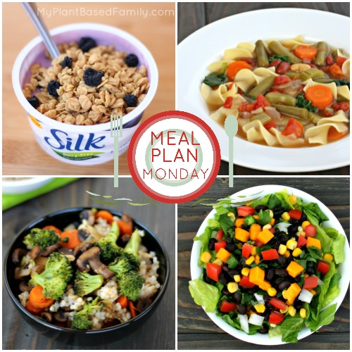 My Plant-Based Family meal plan that is perfect for starting a plant-based diet.