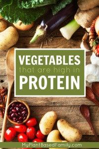 Do you worry about protein on a plant-based/vegan diet? Don't! There are a ton of vegetables that are high in protein.