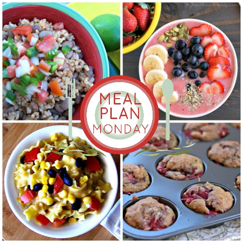 Plant-Based meal plan with quick and easy meal ideas