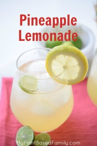 Easy peasy Pineapple Lemonade recipe that is perfect for a party or everyday.