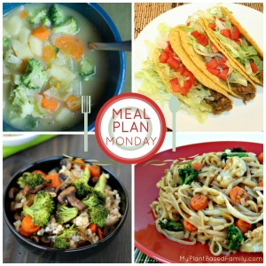 A plant-based meal plan the whole family will enjoy. Easy swaps make it gluten-free.
