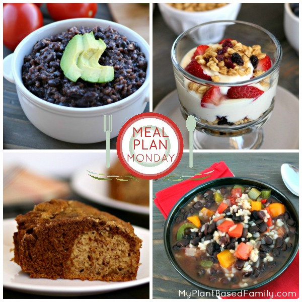 This weekly plant-based meal plan is ready for fall with savory soups and sweet breads.