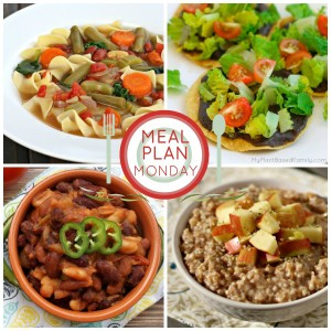 This Plant Based Meal Plan is perfect for your family is fall. It has lots of soup, oatmeal and easy, family-friendly meals.