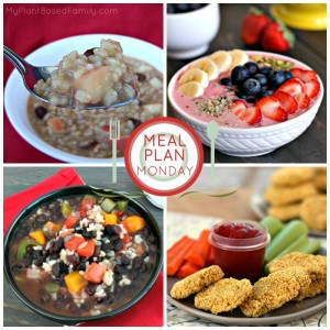 This plant-based meal plan is perfect for winter. It has healthy soups, casseroles, and more!