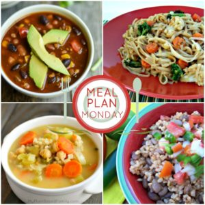 A plant-based meal plan for winter with quick and easy meals.