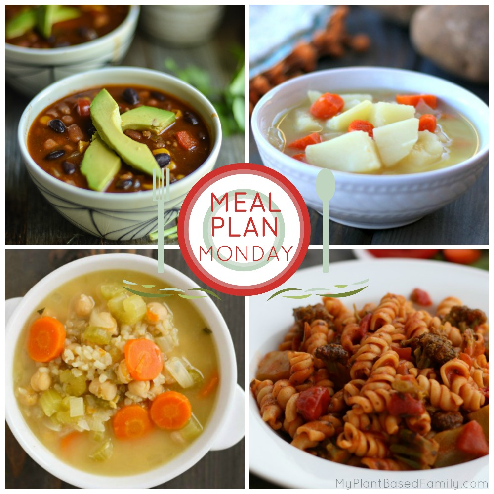 Meal Plan Monday! Try this plant-based meal plan that is family-friendly.