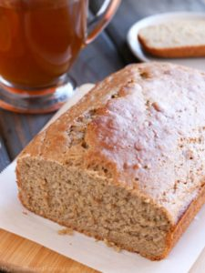 Vegan Apple Cider Bread