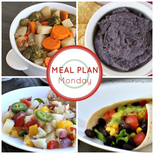 Our weekly Plant-Based Meal Plan featuring simple, whole food recipes.