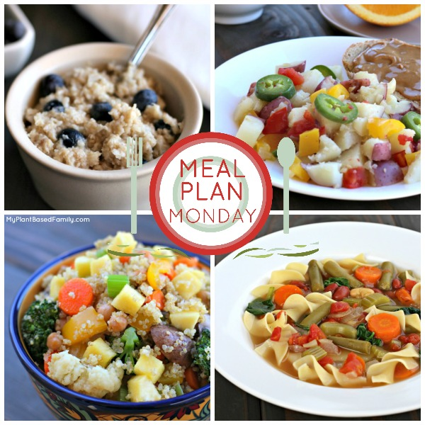 This plant-based meal plan is perfect for spring and filled with family favorites.