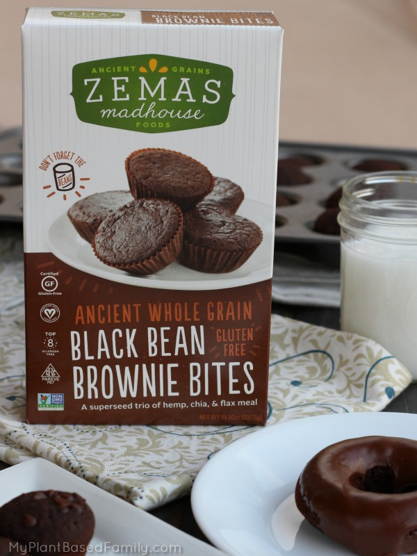 Zemas Madhouse Foods baking mix is made with ancient whole grains and is gluten-free and vegan.