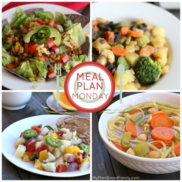 This weekly plant-based meal plan is everything you need to enjoy a plant-based diet.
