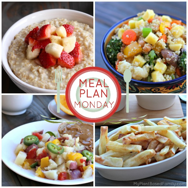A delicious plant-based meal plan the whole family will love.