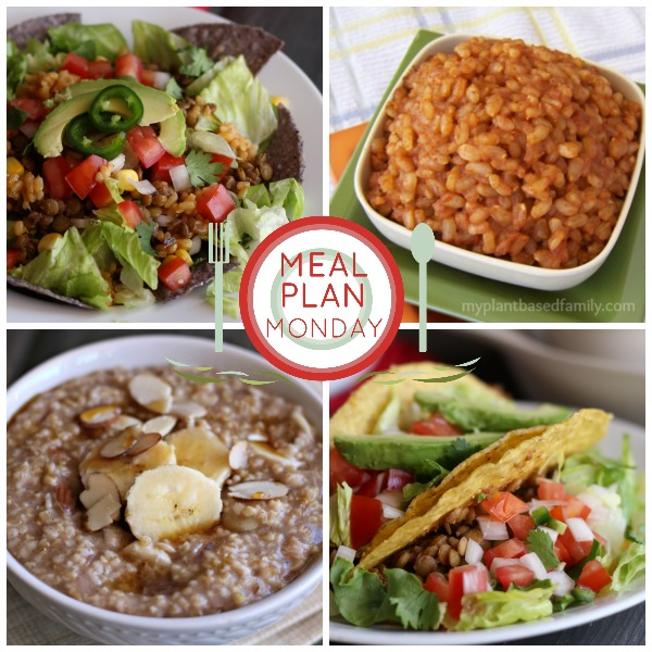 This Plant-Based Meal plan has several tex-mex recipes and other family favorites. All completely vegan!
