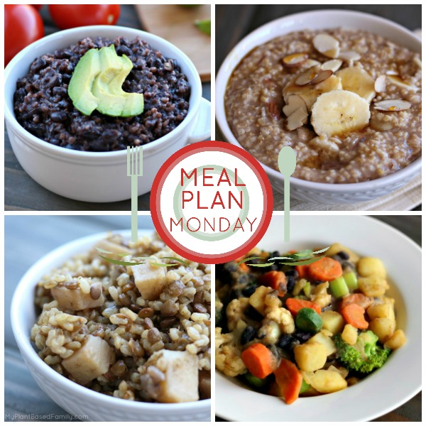This week, we have a plant-based meal plan that is full of starch! Dr. McDougall would be proud!