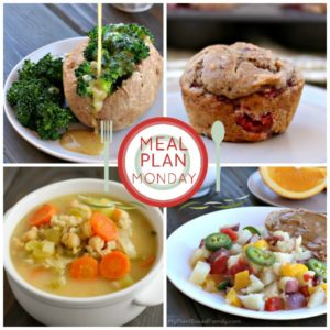 This Plant-Based Meal Plan is perfect for busy families. It contains easy and delicious recipes that vegans and omnivores will love!