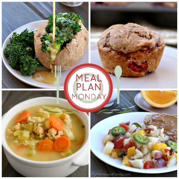 This weekly Plant-Based Meal Plan is perfect for busy families. It contains easy and delicious recipes that vegans and omnivores will love!