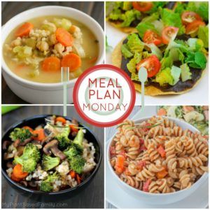 This Plant-Based Meal Plan is perfect for back to school or any busy season of life.