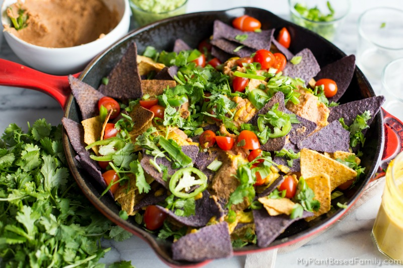 Your whole family will enjoy these healthy, plant-based Nachos!