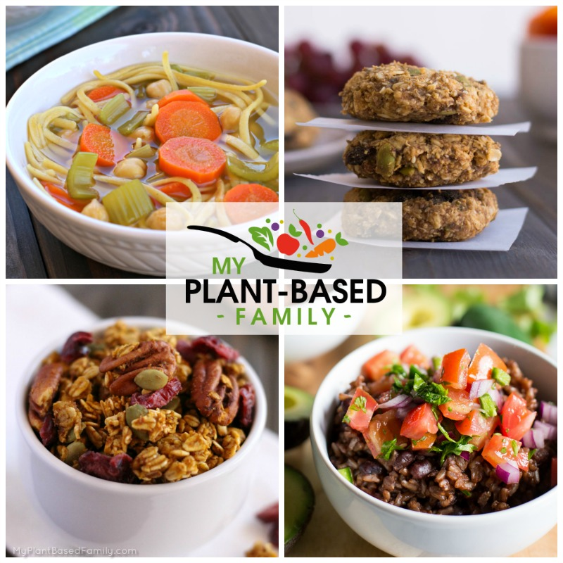 This Plant-Based Meal Plan is full of delicious comfort foods your family will love. Soups, casseroles and freshly baked goods whisper fall is here.