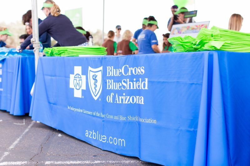 Blue Cross Blue Shield of Arizona at the Uptown Market in Phoenix.