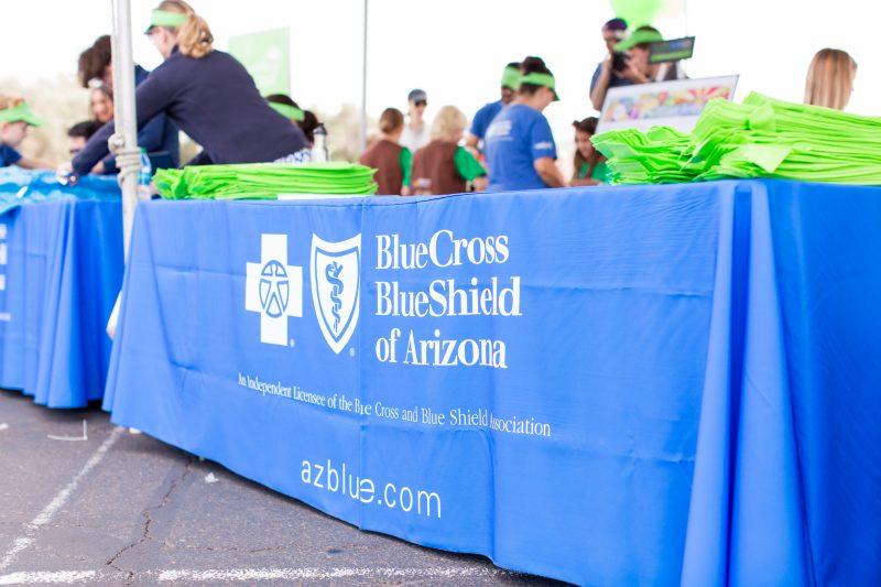 Blue Cross Blue Shield of Arizona at the Uptown Market in Phoenix.
