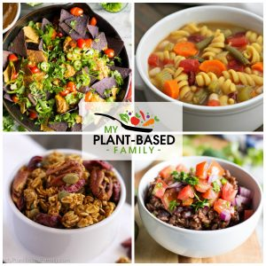 Try this Plant-Based Meal Plan full of easy and delicious meals!