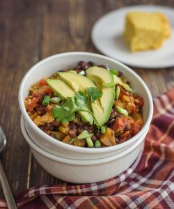 Chipotle Black Bean Chili