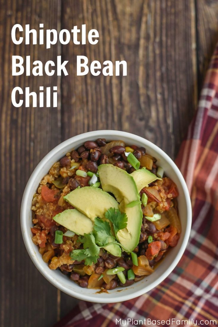 Instant Pot Chipotle Black Bean Chili