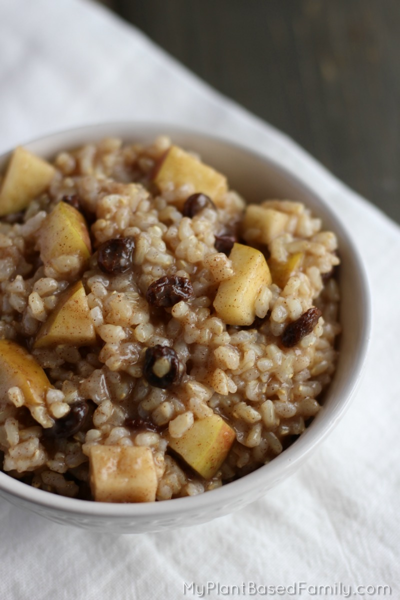 Instant Pot Breakfast Rice