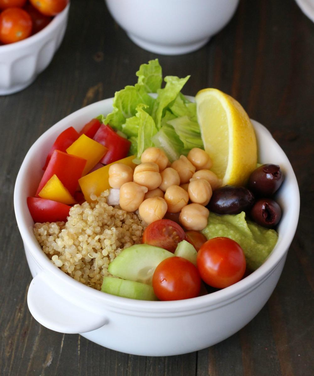 Plant-Based Mediterranean Bowl