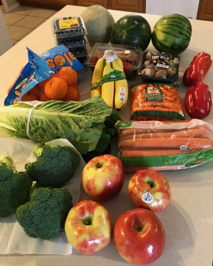 Produce for Plant-Based Meal Plan
