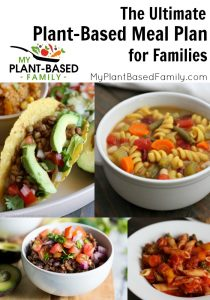 plant-based meal plan for families
