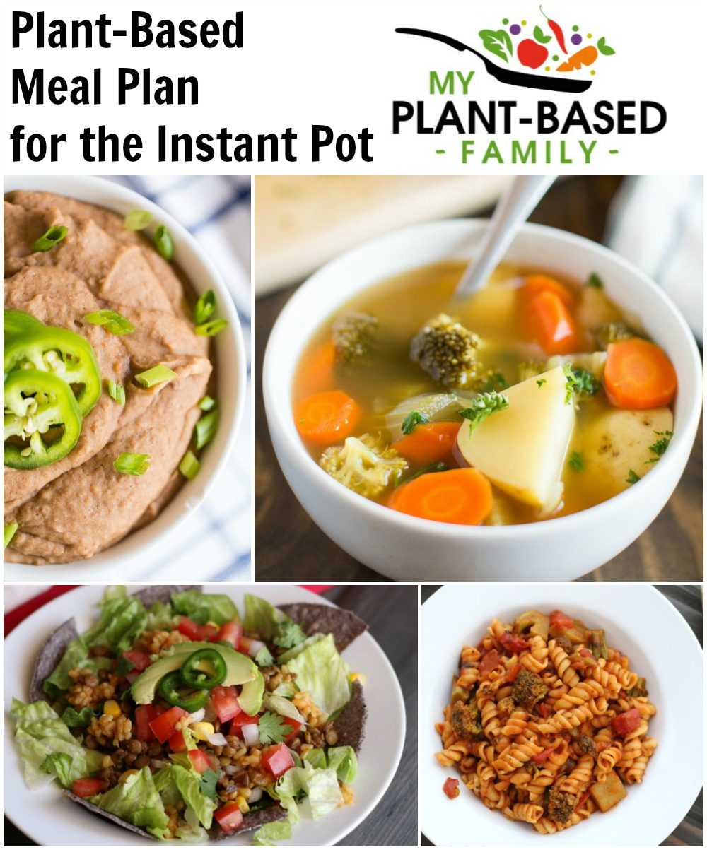 Instant Pot Plant-Based Meal Plan