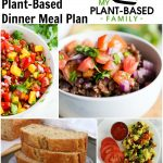 Week Night Plant-Based Dinners Meal Plan