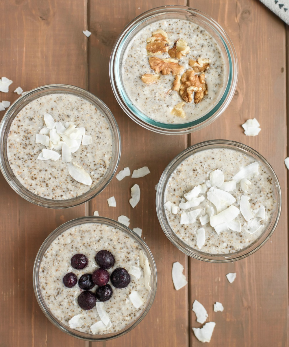 Vanilla Coconut Chia Pudding
