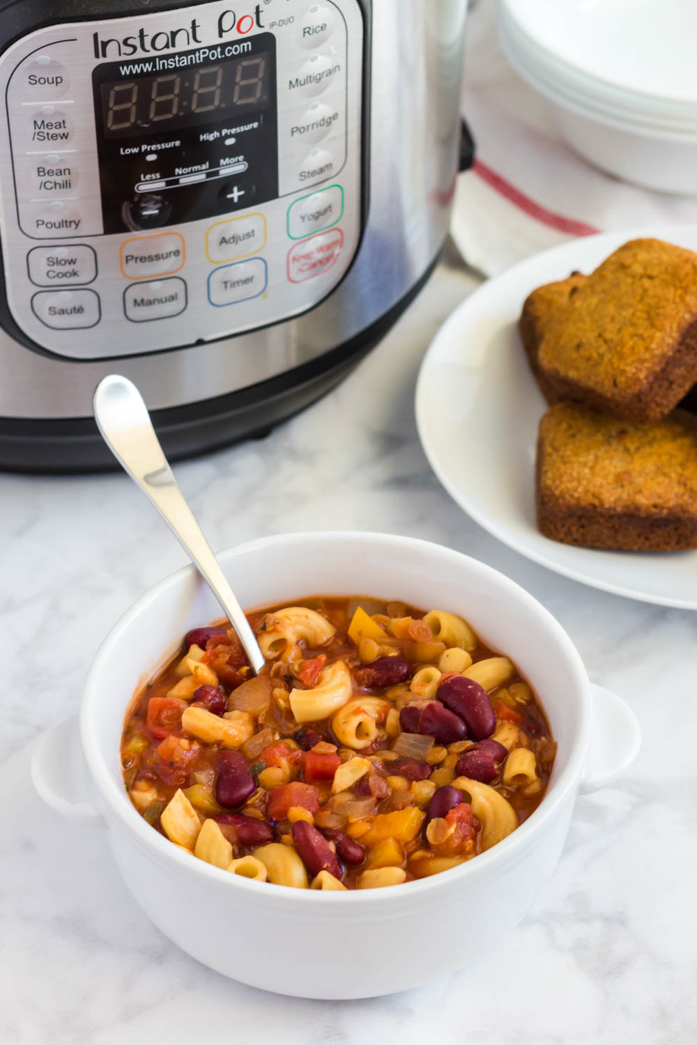 Plant-Based Instant Pot Goulash