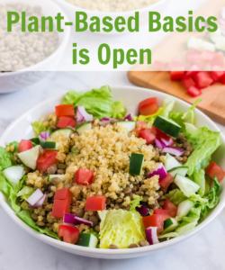 Plant-Based Basics Plant-Based Course