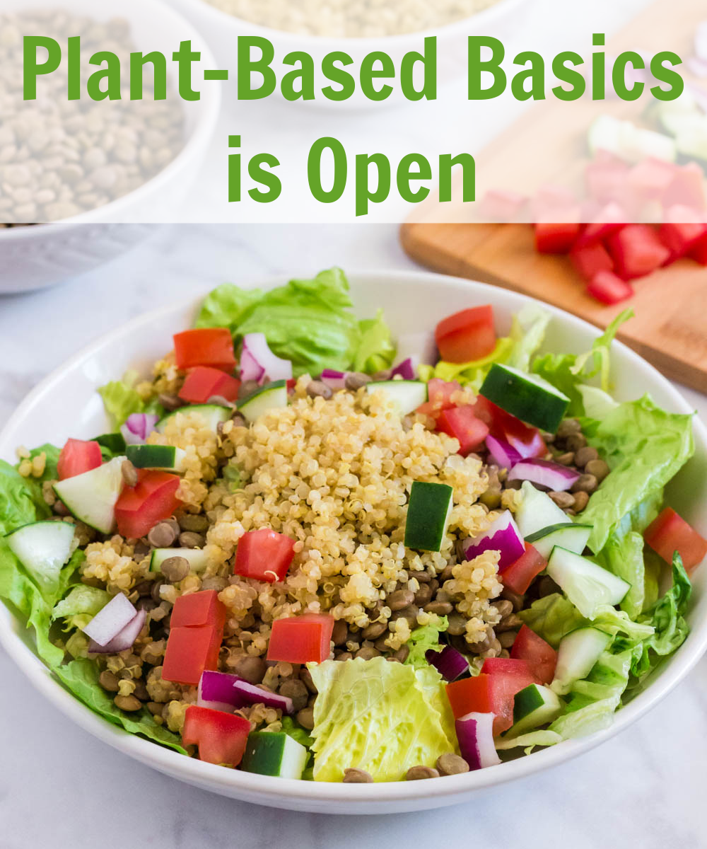 Plant-Based Basics Plant-Based Course
