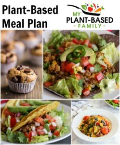 This week's plant-based meal plan includes family-friendly vegan recipes for breakfast, lunch and dinner.