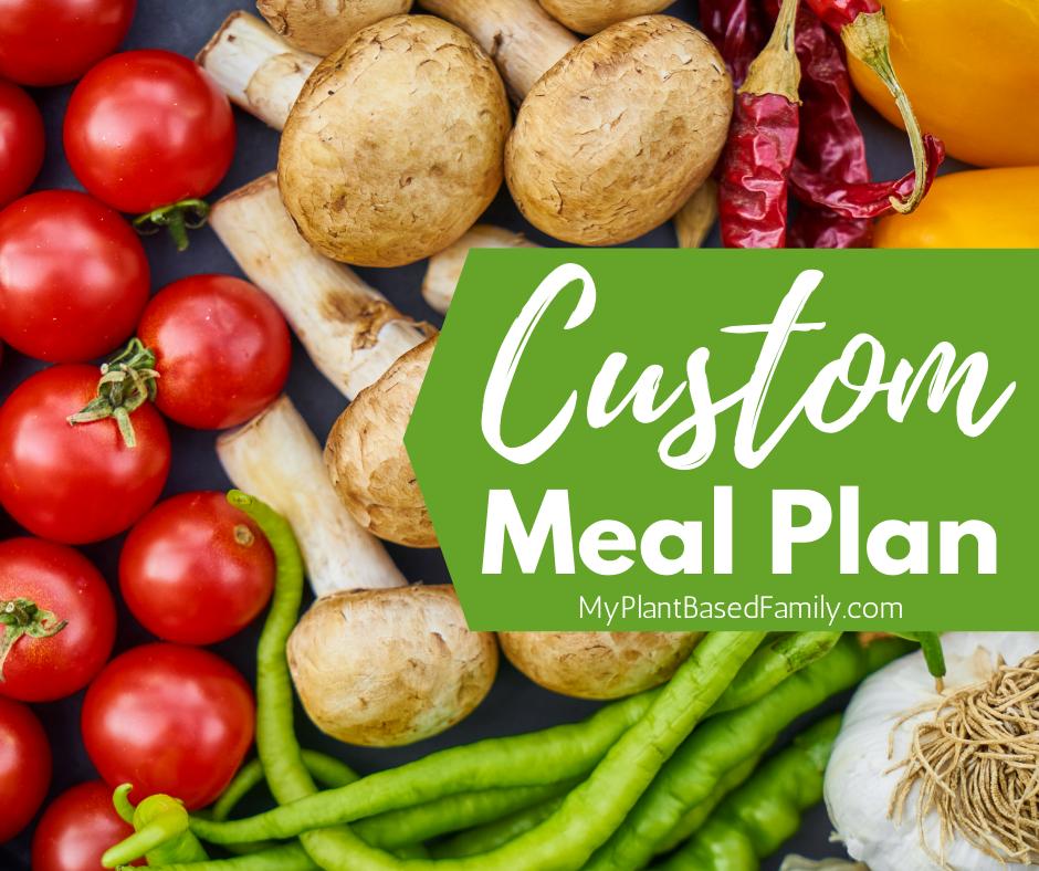 Custom Meal Plan