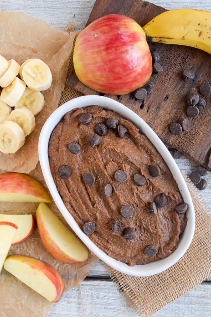 Chocolate Peanut Butter Dessert Hummus