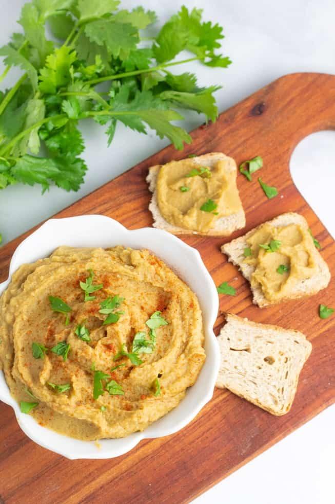 Italian Vegan Hummus