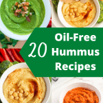 Oil-Free hummus recipes