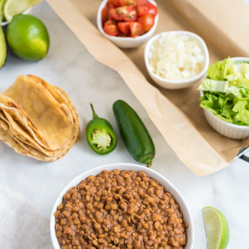 Plant-Based Taco Bar