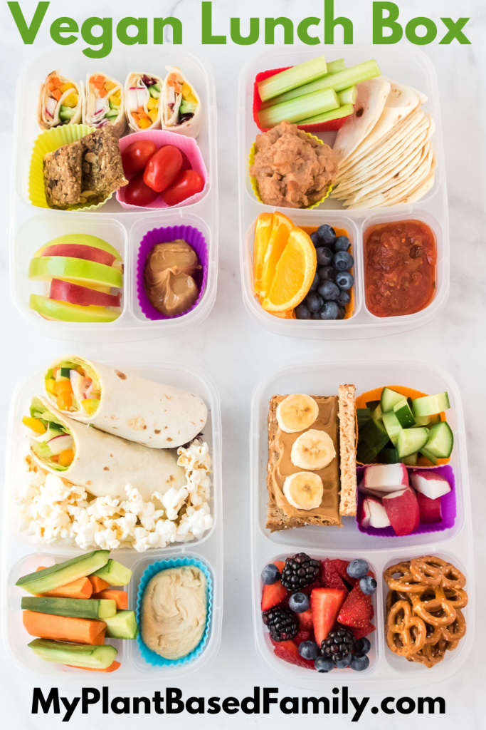 Vegan Lunch Box Ideas